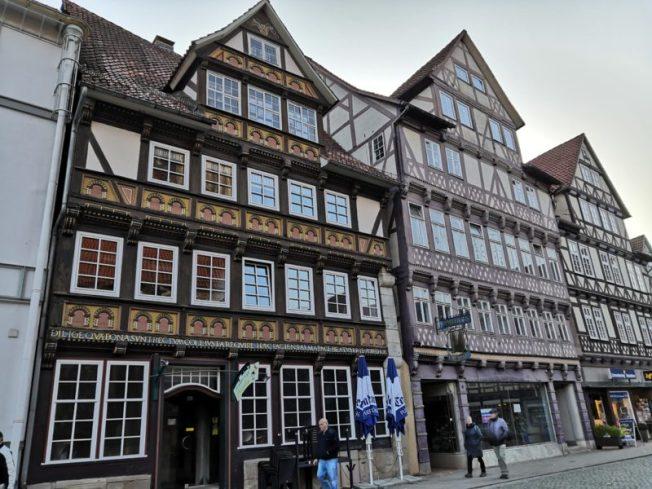 Sehr schön restaurierte Altstadt
