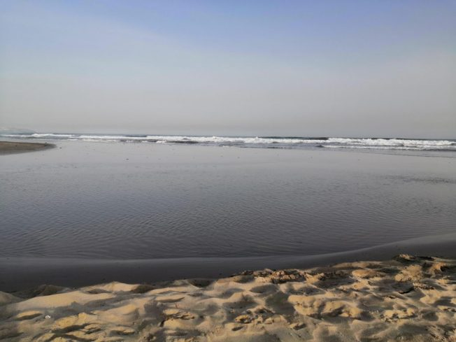 Am Strand Castellón de la Plana