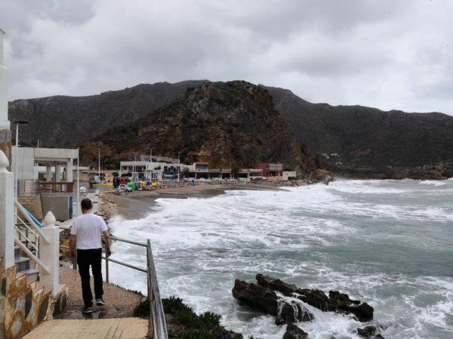 Am Strand von El Portús