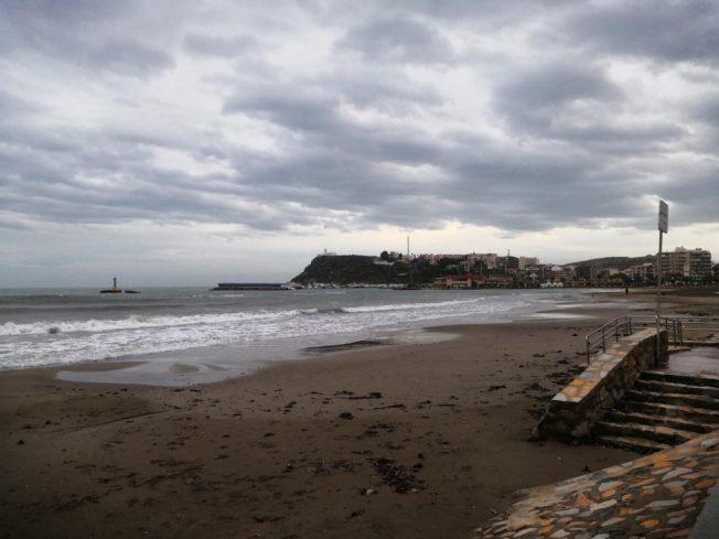 Blick auf Puerto de Mazarrón