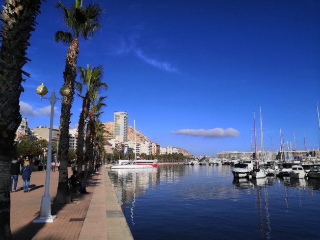 Yachthafen in Alicante