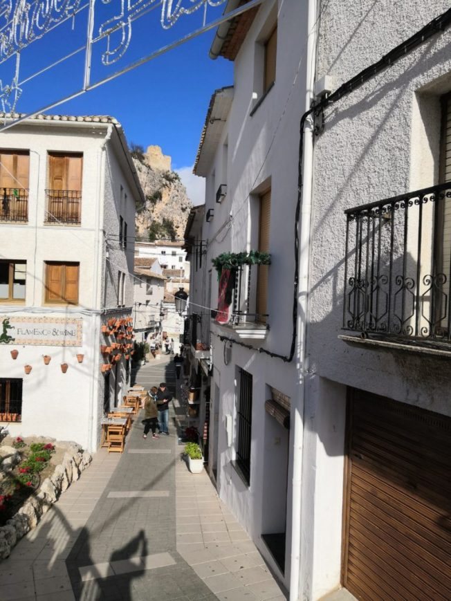 Gasse in Guadalest