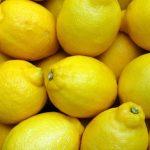 Zitronen sind die Basis für Zitronensäure