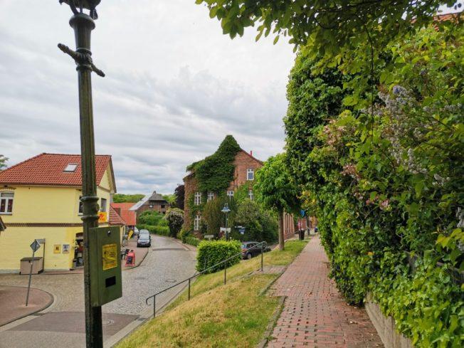 Deichstraße in Neuhaus / Oste