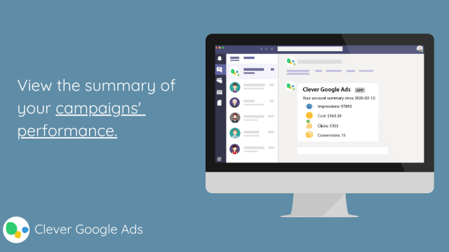 view the summaery of your online campaigns