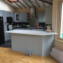 New kitchen breakfast counter island