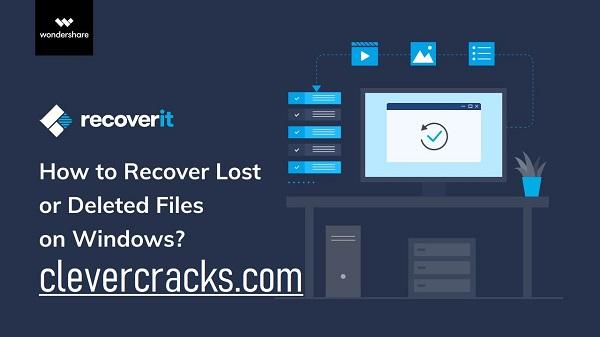 Wondershare RecoverIt Crack Plus Registration Code