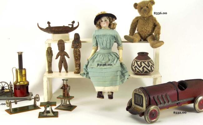 Old Toys And Classic Games For A Dip Into Past Amusements