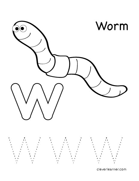 Worm Preschool Activities Worksheets. Worm. Best Free