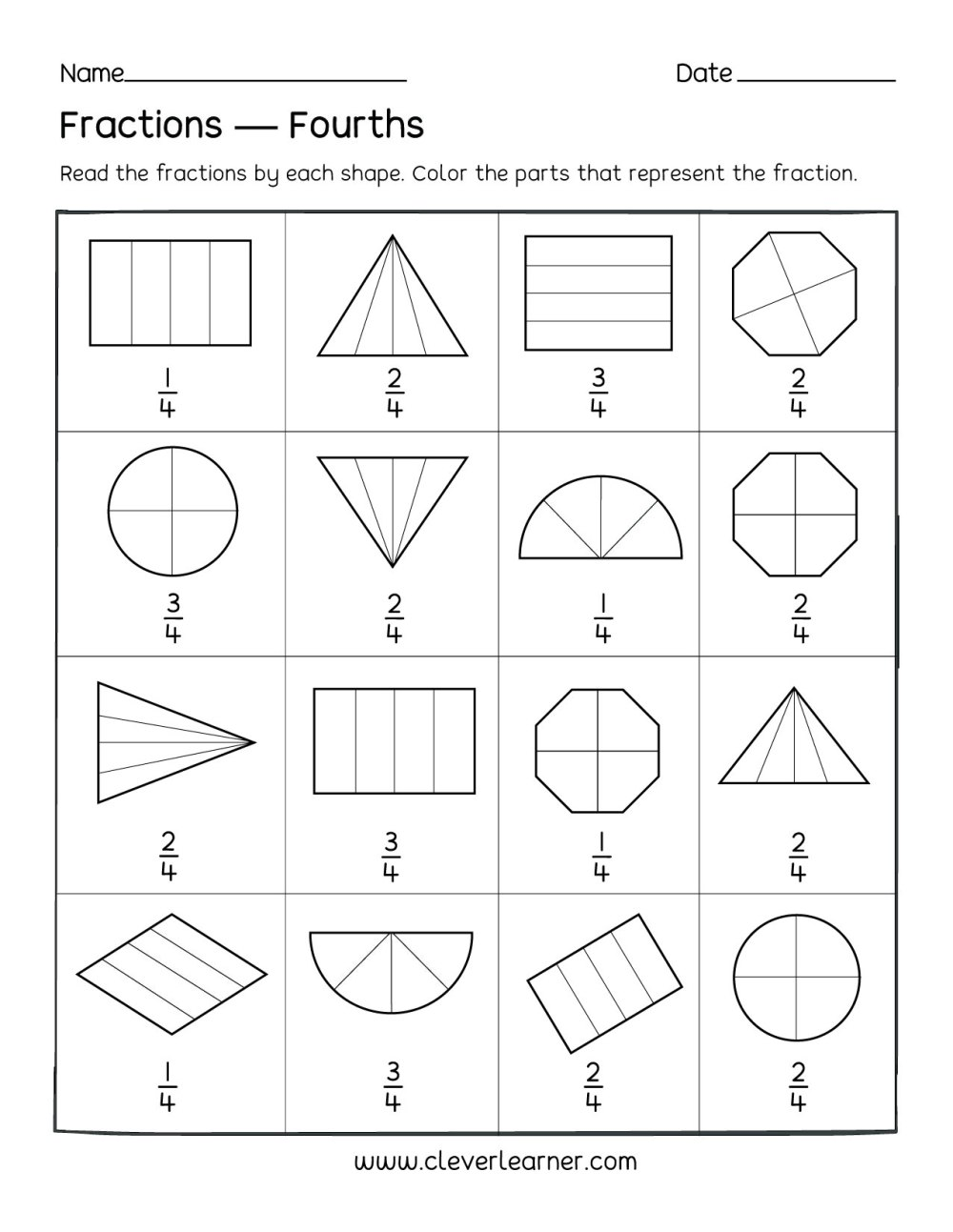 medium resolution of Fun activity on fractions