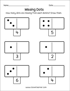 Dominoes activities and worksheets
