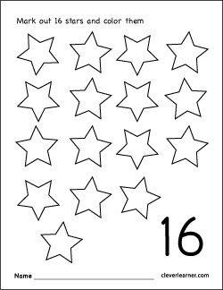 "Search Results for ""Number 16 Printable Worksheets"