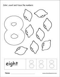 Number Eight Worksheets For Kindergarten. Number. Best ...