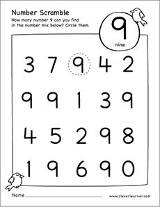 Search Results for Free Printable Number Tracing