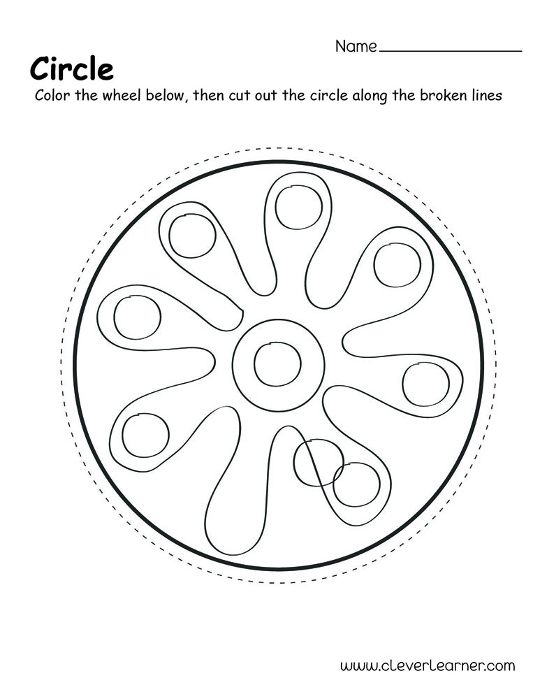 Printable Circle Shape Patterns