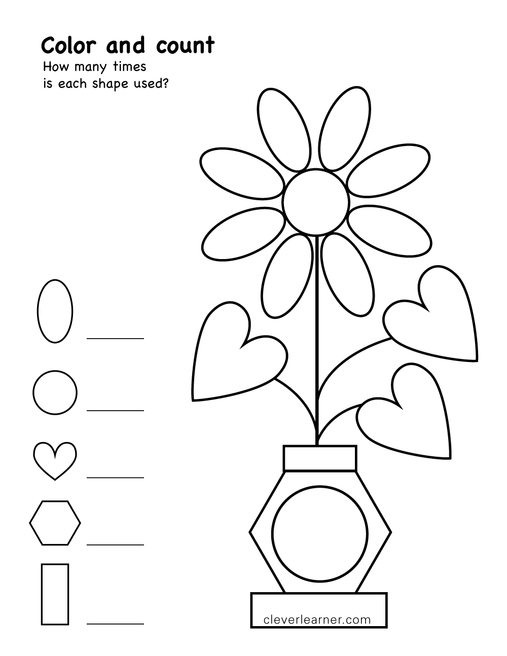 Color Matching Pages Coloring Pages