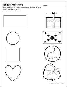 Tzoid Shapes Worksheets For Preschoolers. Tzoid. Best Free