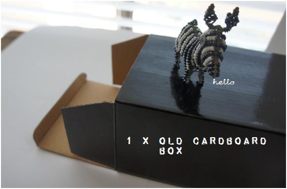 1 Cardboard Box