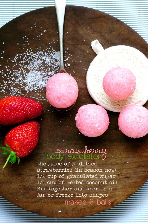 Stawberry Exfoliator