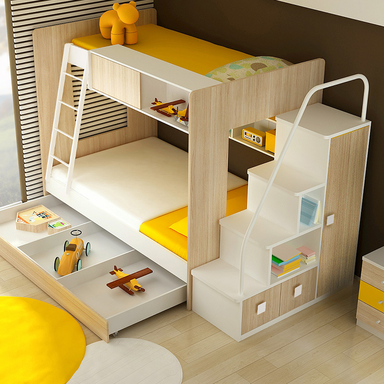 Dillon Bunk Bed With 3 4 Bed Clever Little Monkey
