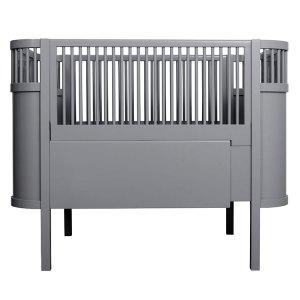 Kili Baby Cot & Junior Bed - Dark Grey