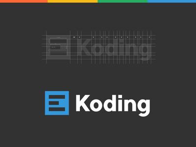 Koding Logo Design by Paulius Kairevicius