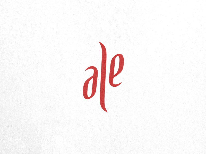Ale Ambigram by Alessandro Trimarco