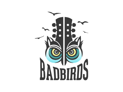 Creative & Strong Bad Birds Logo For Sale by Lobotz Logos