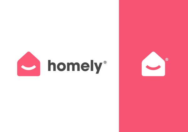 homely - logo by Eddie Lobanovskiy