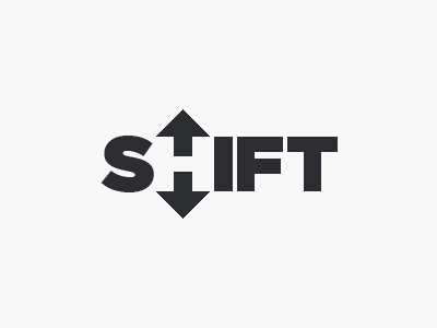 Shift logo by Brian Plemons