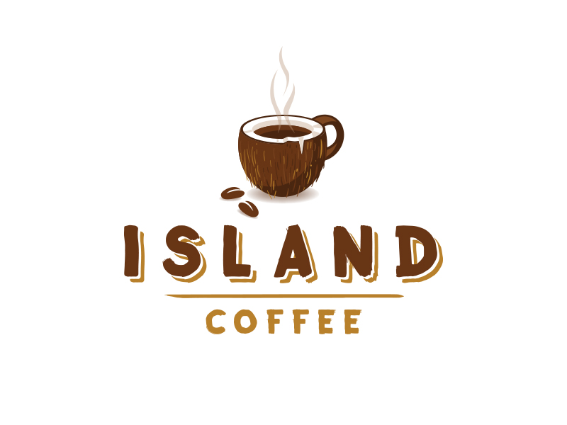 Island Coffee Coconut Mug by Louie Preysz