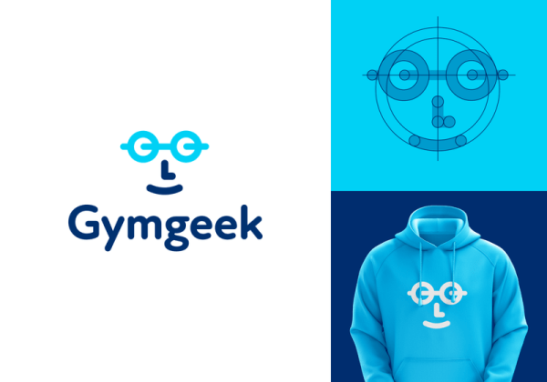 Gymgeek Identity Project by LeoLogos.com | Smart Logos