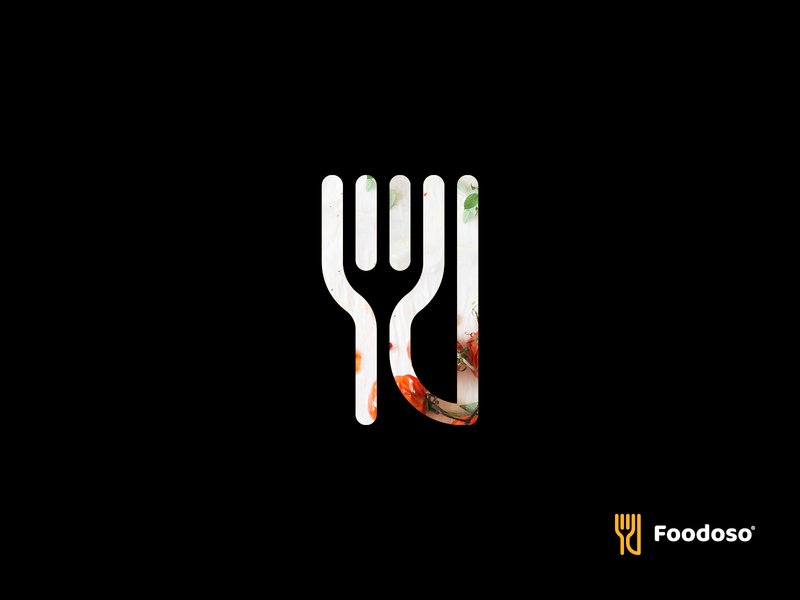 Foodoso Logo by Alex Tsanev