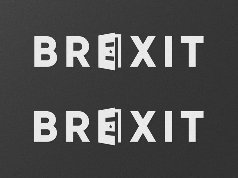 Brexit logo by Bernardo Silva