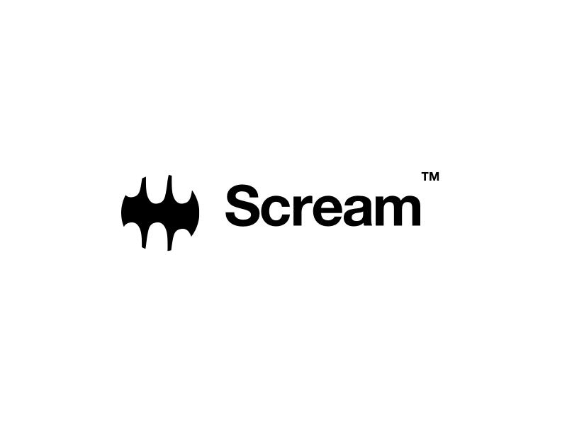 Scream logo by Matej Polas