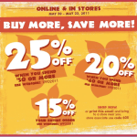 Up to 25% off at the Children's Place #deal #frugal #savings