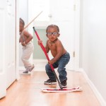 What Time is It? Cleaning time: Toddlers and Chores
