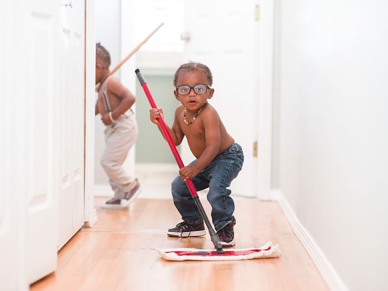 A Guide about toddlers and chores