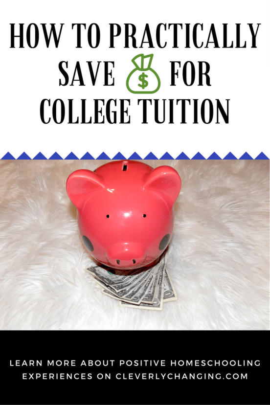 How to practically save money for your child's college tuition