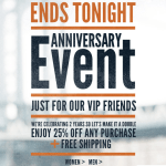 Lands' End Canvas Anniversary Sale w/ Coupon Code- Frugal Deals