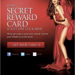 FREE Victoria Secret Reward Card