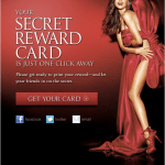FREE Victoria Secret Reward Card