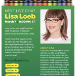"Inside the Crayon Box"" live chat Wed, Mar 7th @ 9 p.m. EST"