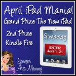 April iPad Mania Giveaway!