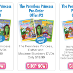 "August 11, 2012 VeggieTales Releases ""The Penniless Princess"""