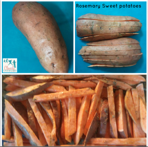 Cooking with Kids Rosemary Sweet Potatoes