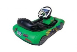 Digital toys - Inflatable iPad car