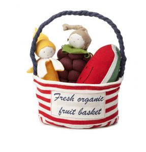 Fresh Organic Fruit Basket