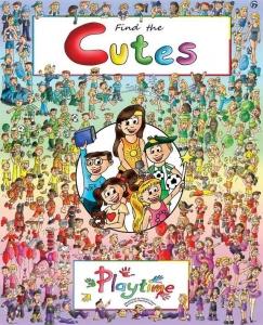 Find the Cutes Cover Kickstarter Campaign Mar 1- Mar 31