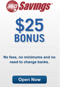 Get $25 when you sign up for a Capital 360 Savings account